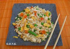 ΚΙΝΕΖΙΚΟ ΡΥΖΙ!!! Asian Recipes, Ethnic Recipes, Fried Rice, Fries, Chinese, Party, Food, Essen, Parties