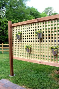how to build an outdoor privacy screen - Outdoor Privacy Screens