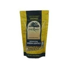 Tru Roots Og1 Sprouted Green Lentils (1x15Lb)