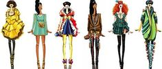 """Sashiiko Anit is a DeviantArt user whose popular art centers around a common theme: she recreates beloved characters and puts a high fashion spin on their outfits. She calls this particular collection """"Disney goes fashion,"""" and she captions it in a fascinating way:  Read more: http://www.thegloss.com/2014/04/18/fashion/disney-princess-fashion-costume-designs/#ixzz37SJvCGF7"""