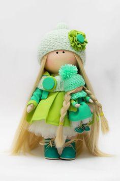 "Интерьерные куклы и игрушки ""Gurlena"""