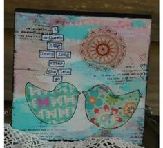 Decopage block by Jo Parker - A mothers hug lasts long after she lets go. Fish Design, Online Gifts, Little Ones, New Zealand, Letting Go, Gifts For Kids, Hug, Mothers, Let It Be