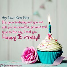 42 Best Happy Birthday Wishes Card With Name Maker Images In 2019