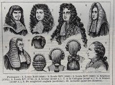 Na época do Barroco, a peruca tornou-se um objecto de moda ditado pela corte francesa, passando a ser um ícone importante do estatuto social.