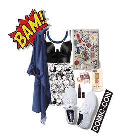 """""""weekend the comic-con"""" by laurencia-813 on Polyvore"""