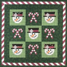 - Mr Snowman Quilt Pattern - at The Virginia Quilter