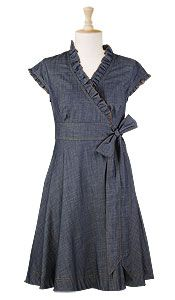 Love this ... maybe with a long sleeve, sweater tights and boots? Mmmmm. Fall will you ever arrive?!? $64.95 E-Shakti