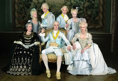 A Swedish mini-series from 2001  The Marriage of Gustav III   Gustav III:s äktenskap