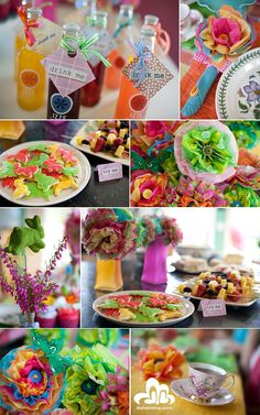 Mad Hatter Tea Party Decorations | Simply Creative Insanity: Mad Hatters Tea Party