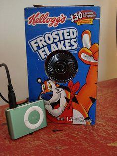 Make an iPod Speaker from a Hallmark Music Card. Teen Tech Week?