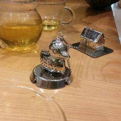 #tea 오리티팟 ㅎㅅㅎ 귀여웡 ㅎㅎ  사놓은 마차티 빨리 마셔야하는데ㅠㅠ 고기먹고 기름기 빼야하는데.. 훙