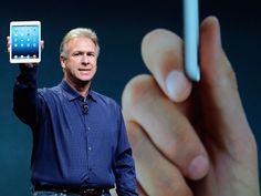Apple exibe iPad mini e outros produtos em evento de lançamento em San José, nos EUA.
