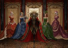 Dark lord in the ballroom. by Irulana on DeviantArt. Copyrighted to its commissioner. Click through for original! No copyright infringement intended.