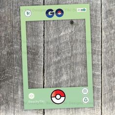 Hey, I found this really awesome Etsy listing at https://www.etsy.com/listing/452511302/pokemon-go-frame-party-photo-booth-prop