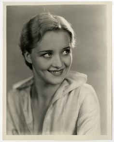 Smiling Blonde Art Deco Beauty Marian Marsh Vintage 1931 Elmer Fryer Photograph