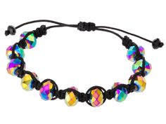 """Shamballa bracelet from INM Crystal. Scroll to the bottom of the page to click on """"Click Here to get a printable copy of this page"""" then use online-convert.com to create a free PDF you can save to your hard drive."""