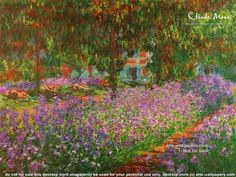 Claude Monet The Artists Garden at Giverny print for sale. Shop for Claude Monet The Artists Garden at Giverny painting and frame at discount price, ships in 24 hours. Painting Frames, Painting Prints, Watercolor Painting, Watercolor Artists, Painting Canvas, Monet Exhibition, Framed Art Prints, Fine Art Prints, Framed Wall