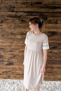 Melody Mauve Dress, Comfortable Fashion, Modest Dresses, Nursing, Fashion Dresses, Short Sleeve Dresses, Canada, Tees, Model