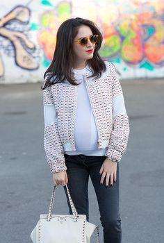 אפונה בלוג אופנה http://afoona-pea.blogspot.co.il/2015/02/maternity-jeans-and-jacket.html