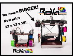 RoVa4D Full Color Blender 3D Printer by ORD Solutions — Kickstarter