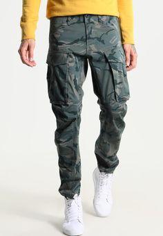 G-Star ROVIC QANE 3D TAPERED - Cargo trousers - khaki - Zalando.co.uk Combat Gear, Cargo Jeans, Gears, Parachute Pants, Trousers, 3d, Fashion, Molde, Pants