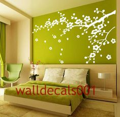 Vinyl Wall Decals wall stickers tree decal flower by walldecals001, $42.00