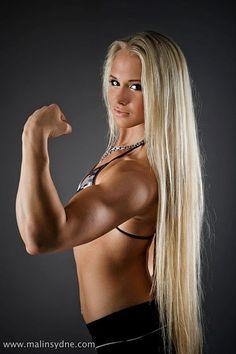 sarah backman-armwrestling-personal trainer-swedish