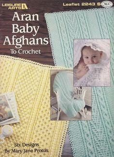 Springtime One-Piece Afghan TNS Crochet Pattern//Instructions Leaflet