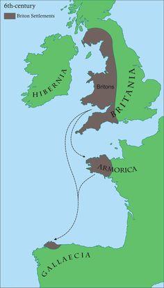Britonia 6thcentury - Romano-British culture