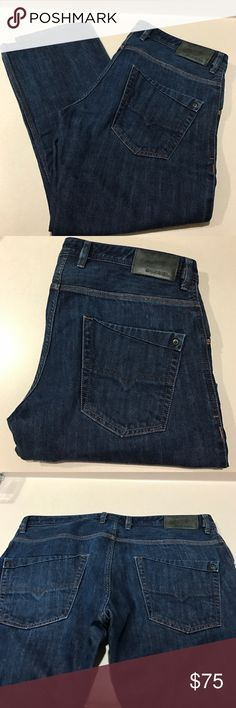 Diesel Krooley Men's Jeans like NEW Diesel Krooley Men's Jeans like new! These were professional hemmed and are a 30 instead of a 32 length as the tag states. Worn once. Well taken care of in a clean and smoke free home! Diesel Jeans Slim Straight