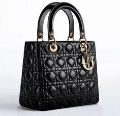 Christian Dior ハンドバッグ レディデイオール【CAL44550ラムスキンハンドバッグBLACK】(2)