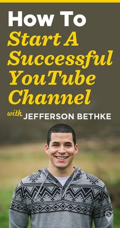 How to start a successful YouTube Channel See more…