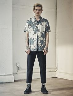 Statement shirts featuring Japanese inspired prints