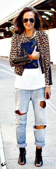 <3 na Love my ALC leopard jacket ! Timeless