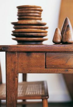 Worn wooden collections