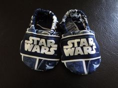 STAR WARS cloth baby shoes by courageousinc on Etsy, $15.00