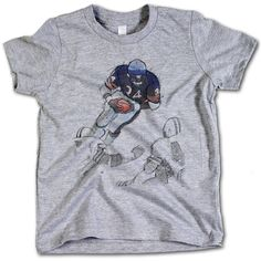 Walter Payton Officially Licensed Chicago Bears Toddler and Youth T-Shirts 2-12 Years Payton Jump Sketch