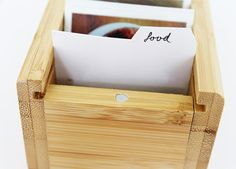 vanilla craft blog: DIY Instagram File Box