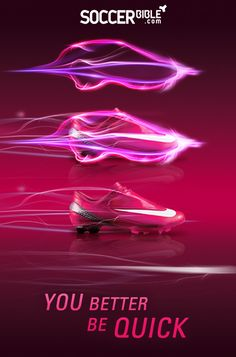 Pink Nike Mercurial Vapors