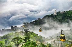 The Ba Na Hill station in Da Nang, Vietnam