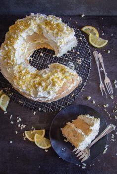 Lemon Desserts, Lemon Recipes, Delicious Desserts, Italian Desserts, Italian Recipes, Italian Cookies, Delicious Chocolate, Lemon Tiramisu, Tiramisu Cake