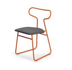 La chaise dans son plus simple appareil...