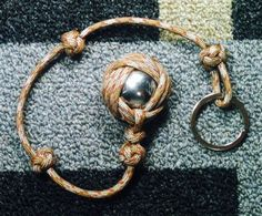 The Celtic Slammer Custom Paracord Self-Defense Key Chain