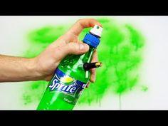 How to Make Simple Air Paint Spray Gun - YouTube