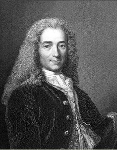 size: Giclee Print: Voltaire, Century French Author, Playwright, Satirist and Man of Letters : Modern Meaning, Frame Story, Men Of Letters, Step Kids, Playwright, Gradient Color, 18th Century, Giclee Print, Marie