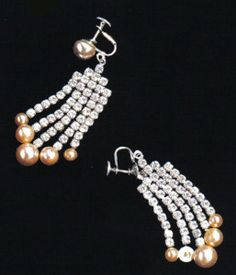 The Personal Property of Marilyn Monroe: A Pair of Earrings from How to Marry A Millionaire - The Marilyn Monroe Collection