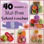 Week 5: 40 Weeks Nut-Free Kids School Lunch
