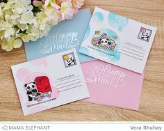 STAMP HIGHLIGHTS: INCOMING MAIL (mama elephant