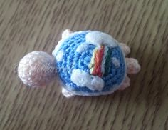 Mini Crochet Sky Turtle