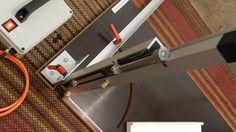 Wire EPS/XPS foam cutter  Výškové nastavenie (doraz) rezania.